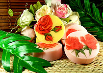 Saboo Thailand Rose Fancy Soap